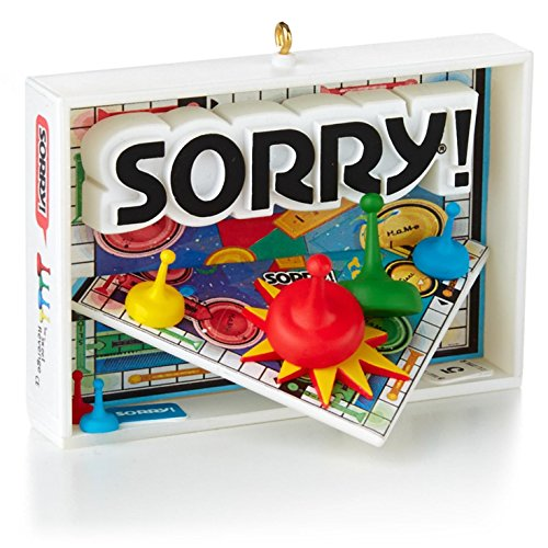 Sorry! 1st In The Family Game Night Series - 2014 Hallmark Keepsake Ornament