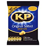 KP Original Salted Peanuts 80g (Pack of 18)