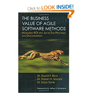 The Business Value of Agile Software Methods: Maximizing Roi With Just-in-time Processes and Documentation