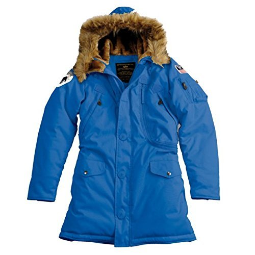 Alpha Ind. Frauen-Jacke Polar Jacket Wmn - royal