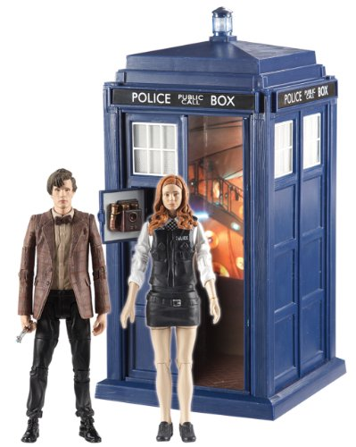 gadget geek - *doctor who christmas adventure set tardis doctor who figure and amy pond figure*