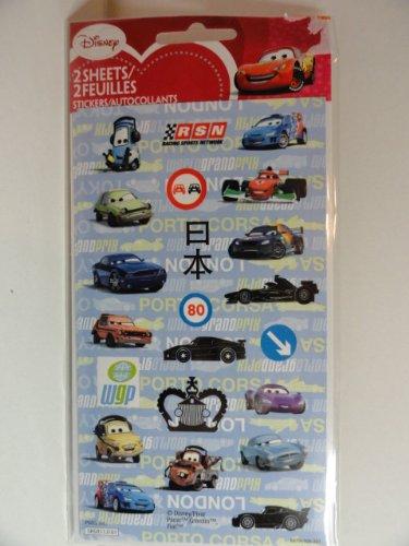 Disney Cars Sticker Album with 8 Sticker Sheets - 1
