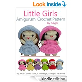 Little Girls Amigurumi Crochet Pattern (Easy Crochet Doll Patterns)