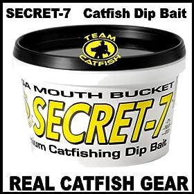 SECRET 7 catfish bait pint