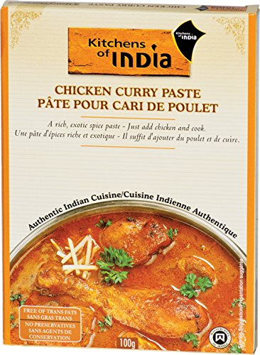 Kitchens Of India Curry Paste For Chicken Curry, 3.5-Ounce Boxes (Pack of 6) (Chicken Tikka Spice compare prices)