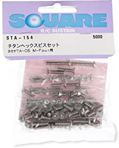 buy titanium hex screw set for tamiya ta 05m four sta 154 online at low pri. Black Bedroom Furniture Sets. Home Design Ideas