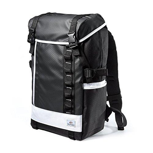 サンワダイレクト スクエアリュック バックパック メンズ 通学 通勤 iPad PC収納 A4対応 ホワイト 200-BAGBP004W