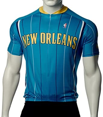 NBA New Orleans Hornets Mens Cycling Jersey by VOmax