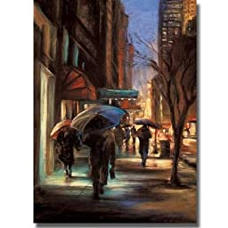 57th Street by Carol Jessen Premium Stretched Canvas (Ready-to-Hang)