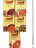 Kitchens of India Variety Sampler - 5 Flavors