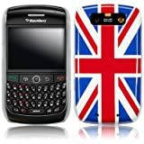 BLACKBERRY CURVE 8900 UNION JACK BACK COVER CASE PART OF THE QUBITS ACCESSORIES RANGEby Qubits