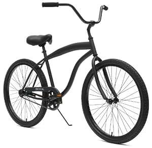 Critical Cycles Men's Beach Cruiser 1-Speed Bike,