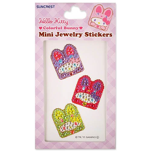 [Hello Kitty] ?~?j?W?... jewelry sticker ?J???t???o?j[ vivid