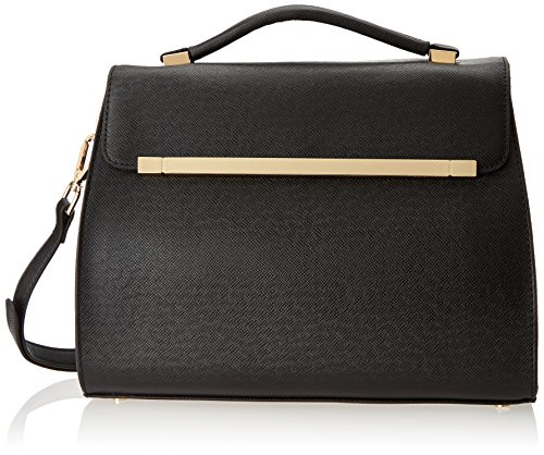 Ivanka Trump Colette Kelly Top Handle Bag,Black,One Size