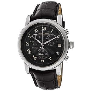 Jorg Gray JG7200-13_188260 Stainless Steel Case Black Calfskin Mineral Men's Watch