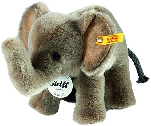 Steiff Trampili Elephant Plush, Grey