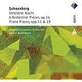 Schonberg : Verklärte Nacht, 5 Orchestral Pieces & Piano Works