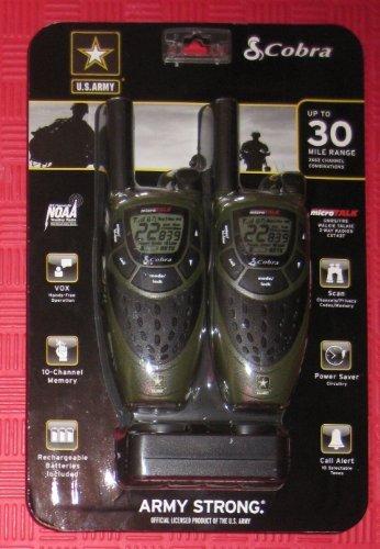 Cobra Cxt437 Walkie-talkie Two-way Radios 30 Mile Range