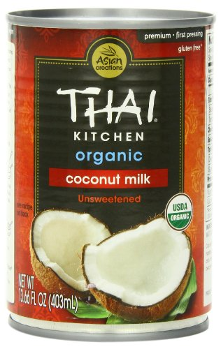 Thai Kitchen Organic Coconut Milk Cans Pack Of 6 Nouveau Raw
