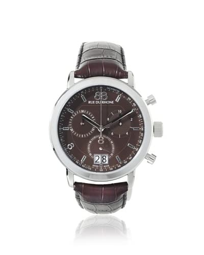 88 Rue du Rhone Men's 87WA130022 Brown Stainless Steel Watch