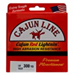 Cajun Red Lightnin' Monofilament Line...