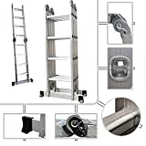 Sotech - Échelle multifonction pliable PRO - Échelle Aluminium Hauteur max 4.70 mètres - Best Reviews Guide