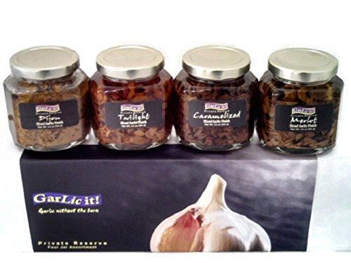 Gourmet Garlic Gift Set or Seasoning Kit Four