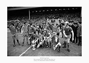 Liverpool Fc 1974 Fa Cup Final Team Photo Memorabilia