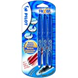 Pilot Frixion Erasable Rollerball 0.7 mm Tip (Pack of 3) - Blue