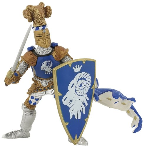Papo Blue Weapon Master Ram Toy