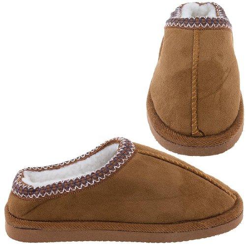 Cheap Caramel Scuff Slippers for Women (B005Y4SHBG)