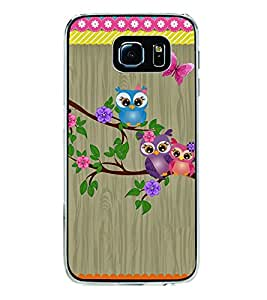 Owls 2D Hard Polycarbonate Designer Back Case Cover for Samsung Galaxy S6 Edge+ :: Samsung Galaxy S6 Edge Plus :: Samsung Galaxy S6 Edge+ G928G :: Samsung Galaxy S6 Edge+ G928F G928T G928A G928I