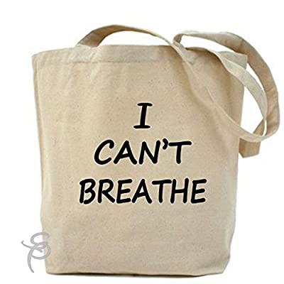 I Can't Breathe Protest Police Tote Bag