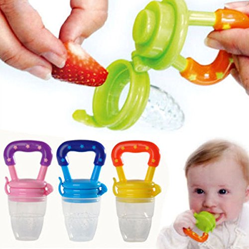 [1x Nipple Fresh Food Milk Nibbler Feeder Feeding Tool Safe Baby Supplies] (Nibbler Infant Costume)