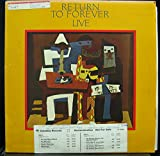 RETURN TO FOREVER LIVE vinyl record