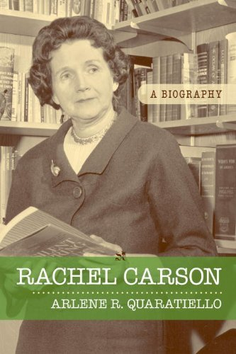 a biography of rachel carson an author of a book on pollution