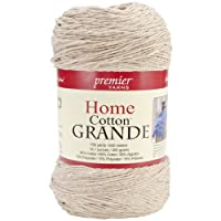 Premier Yarns Solid Home Cotton Grande Yarn, Beige
