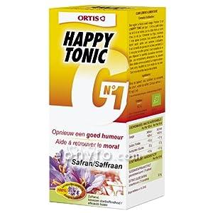 Ortis - Happy tonic bio g n°1 - 150 ml flacon - Pour retrouver moral et joie de vivre