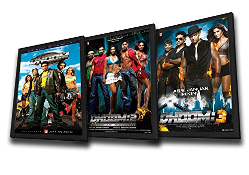 Set of 3 (Dhoom / Dhoom 2 / Dhoom 3) (Bollywood Movies / Indian Cinema / Hindi Film) (Dhoom 2 compare prices)