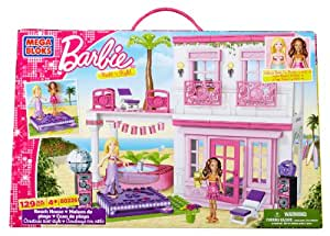 Buy mega bloks barbie build 39 n style beach house multi color online at l - Maison de reve barbie ...