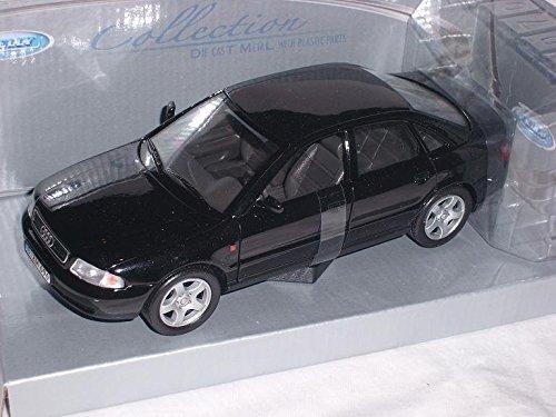 Audi-A4-A-4-B5-Schwarz-Limousine-1994-2001-124-Welly-Modellauto-Modell-Auto
