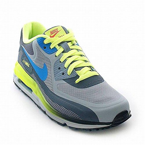 Nike Schuhe - Air Max 90 Lunar (Gs) Magnet Grau/Foto Blau/Grün 38 Turnschuhe, Weib, Mädchen, Women, Girl, Sneakers, Sport
