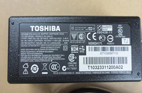 Click to buy AC Power Adapter Charger 65W for Toshiba Satellite A105-S2224 A105-S2231 A105-S2236 New Genuine [] - From only $36