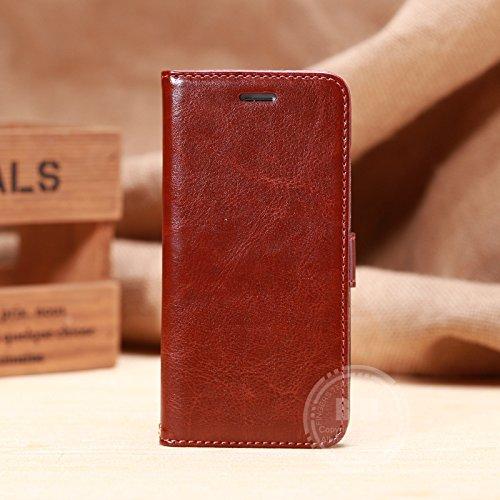 【FGS】ワイン【全8色】iphone6 ケース 4.7インチ横開き 手帳型カバー PUレザー素材 スタント機能付き カードセット付き FGS正規代理品