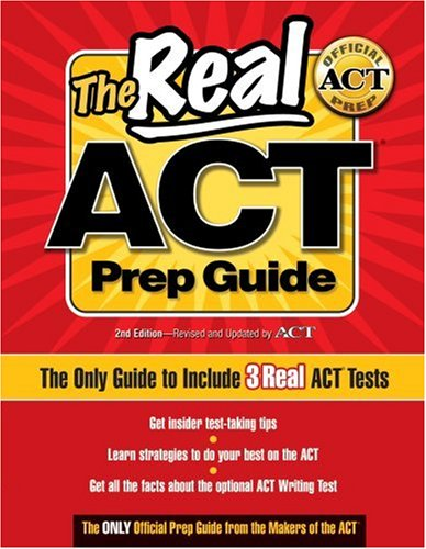 act prep books  review