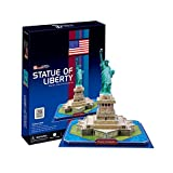 Statue of Liberty New York Great Architecture SOL NY Souvenir 3D puzzle 39 pcs by id-toys [並行輸入品]