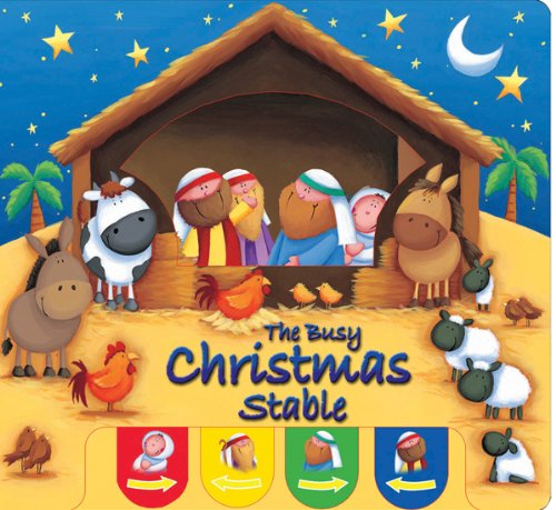 Busy Christmas Stable, The (Candle Peek-a-boo)