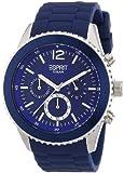 Esprit Herren-Armbanduhr XL marin men Chronograph Quarz Resin ES105331003