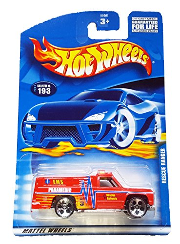 #2001-193 Rescue Ranger China Collectible Collector Car Mattel Hot Wheels - 1