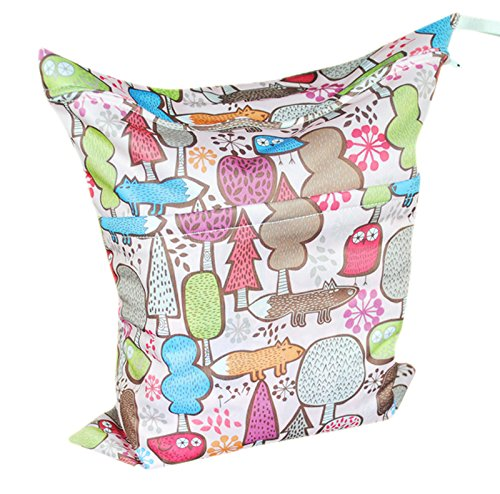 Baby Waterproof Washable Reusable Wet And Dry Cloth Diaper Bag Fl29